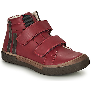 Shoes Boy High top trainers GBB OZONE Red