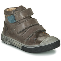 Shoes Boy High top trainers GBB OSHIRO Grey