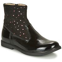 Shoes Girl Mid boots GBB OSHINO Black