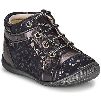 Shoes Girl Mid boots GBB OMANE Marine / Silver