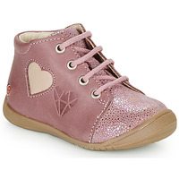 Shoes Girl High top trainers GBB OCALA Old / Pink