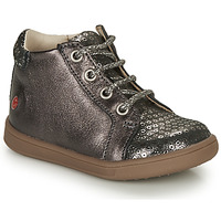 Shoes Girl High top trainers GBB FAMIA Grey / Silver