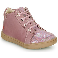 Shoes Girl High top trainers GBB FAMIA Old / Pink