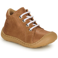 Shoes Boy High top trainers GBB FREDDO Brown