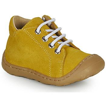 Shoes Boy High top trainers GBB FREDDO Yellow