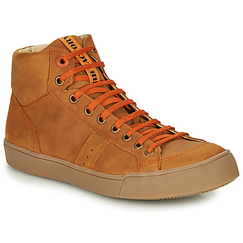 Shoes Boy High top trainers GBB OSTRAVI Brown