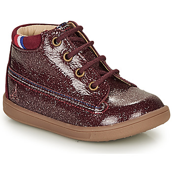 Shoes Girl Mid boots GBB FRANCETTE Bordeaux