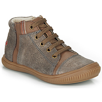 Shoes Girl High top trainers GBB OUNA Taupe
