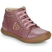 Shoes Girl High top trainers GBB OTANA Old / Pink