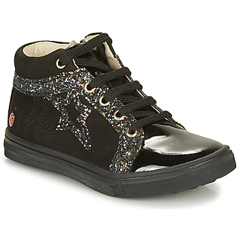 Shoes Girl High top trainers GBB NAVETTE Black