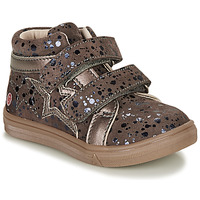 Shoes Girl High top trainers GBB OHANE Brown