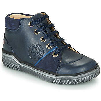 Shoes Boy High top trainers GBB OULAN Blue