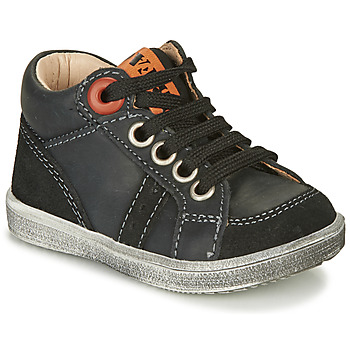 Shoes Boy High top trainers GBB ANGELITO Black