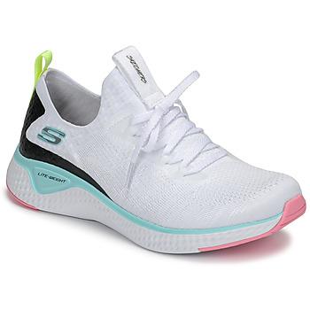 Shoes Women Fitness / Training Skechers FLEX APPEAL 3.0 White / Pink / Blue