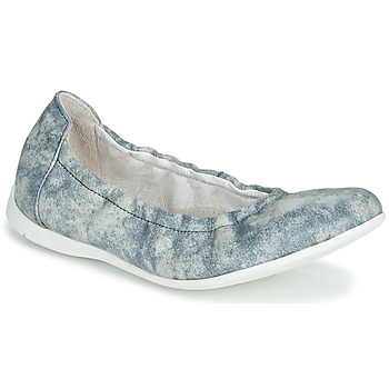 Shoes Girl Ballerinas Ramdam LIBRE Blue