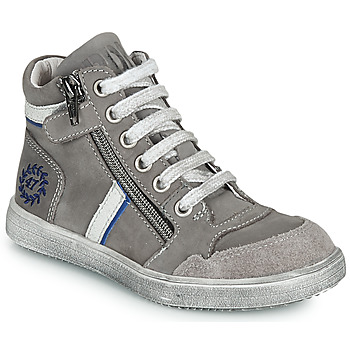 Shoes Boy High top trainers Ramdam HOUSTON Grey