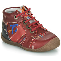 Shoes Boy Mid boots Catimini CYRUS Red