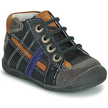 Shoes Boy Mid boots Catimini COLIN Marine
