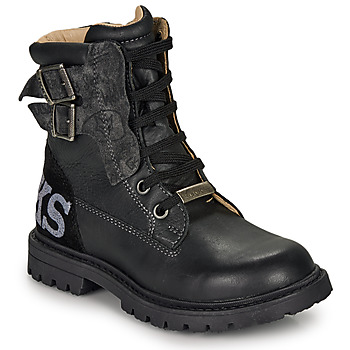 Shoes Boy Boots Ikks JAMES Black
