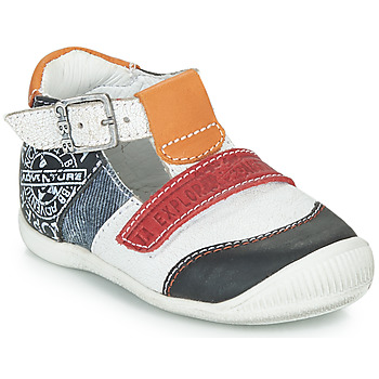 Shoes Boy Sandals GBB MARTIN White / Marine
