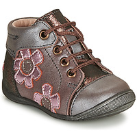 Shoes Girl Mid boots GBB NEIGE Violet / Pink