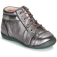 Shoes Girl Mid boots GBB NICOLE Violet / Pink
