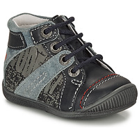 Shoes Boy Mid boots GBB NOLAN Grey / Blue