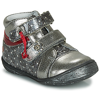 Shoes Girl Mid boots GBB NICOLINE Silver