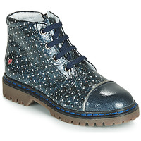 Shoes Girl Mid boots GBB NEVA Blue