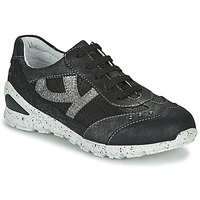 Shoes Girl Low top trainers Ikks FIONA Black