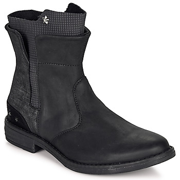 Shoes Girl Mid boots Ikks PAMELA Black