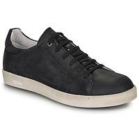 Shoes Boy Low top trainers Ikks JACOB Black