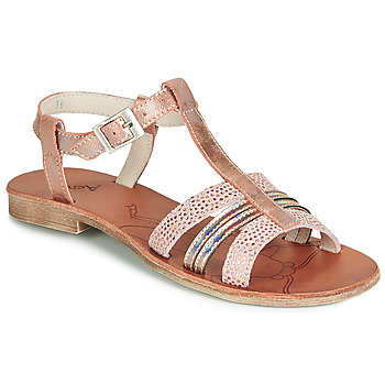 Shoes Girl Sandals Achile KIMITSU Pink