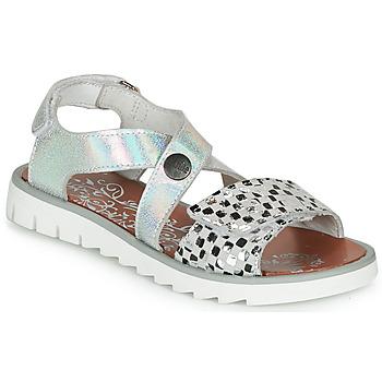 Shoes Girl Sandals Achile HIKARI Silver