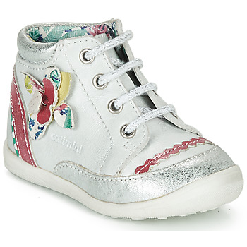 Shoes Girl Mid boots Catimini POUSSIN White