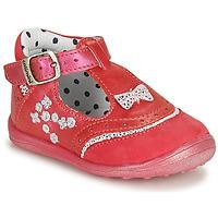 Shoes Girl Sandals Catimini PISTACHE Pink