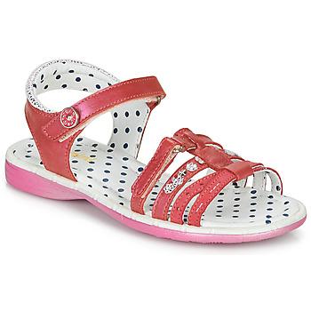 Shoes Girl Sandals Catimini PASTEL Pink