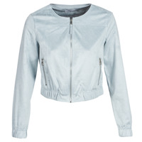 material Women Leather jackets / Imitation le Only ONLLEONA Blue