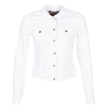 material Women Denim jackets Only ONLTIA White