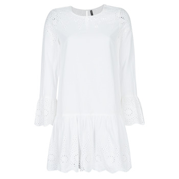 material Women Short Dresses Only ONLALBERTHE White