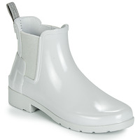 Shoes Women Wellington boots Hunter ORIGINAL KIDS Grey
