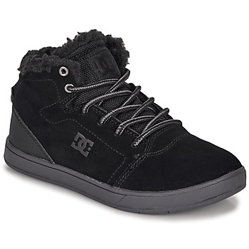 Shoes Children High top trainers DC Shoes CRISIS HIGH WNT Black