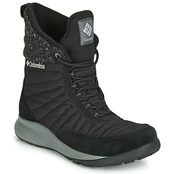 Shoes Women Snow boots Columbia NIKISKI Black
