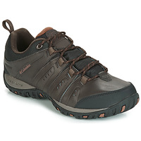 Shoes Men Multisport shoes Columbia WOODBURN II WATERPROOF Brown