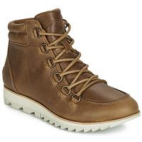Shoes Women Mid boots Sorel HARLOW LACE Cognac