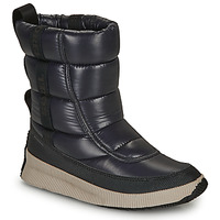 Shoes Women Snow boots Sorel OUT N ABOUT PUFFY MID Black