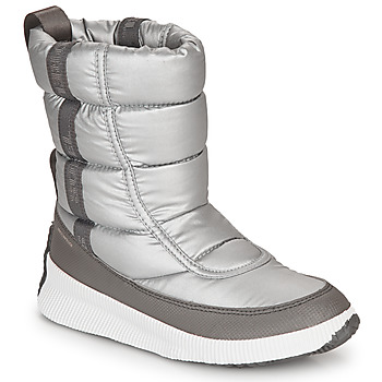 Shoes Women Snow boots Sorel OUT N ABOUT PUFFY MID Grey