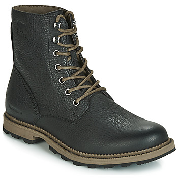 Shoes Men Mid boots Sorel MADSON 6 BOOT WATERPROOF Black