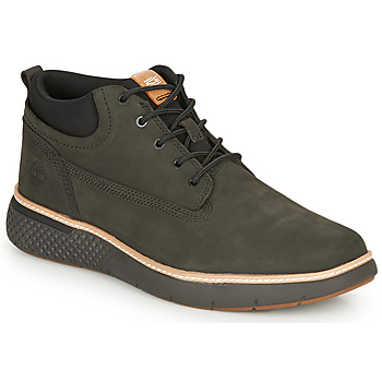 Shoes Men High top trainers Timberland CROSS MARK PT CHUKKA Black