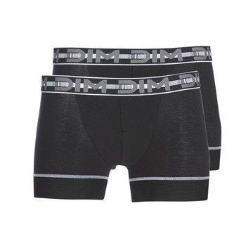 Underwear Men Boxer shorts DIM 3D FLEX STAY & FIT X 3 Black